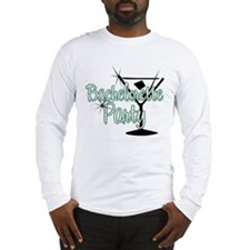 Green Martini Bachelorette Party Long Sleeve T-Shi