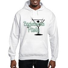 Green Martini Bachelorette Party Hoodie
