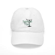 Green Martini Bachelorette Party Baseball Cap