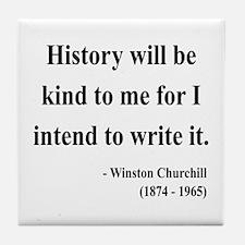 Winston Churchill 20 Tile Coaster