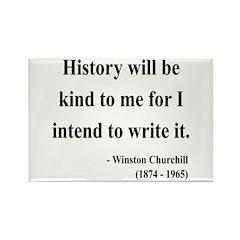 Winston Churchill 20 Rectangle Magnet (100 pack)