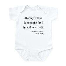 Winston Churchill 20 Infant Bodysuit