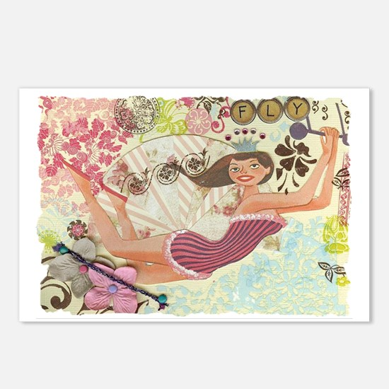 Flying Queen Postcards (Package of 8)