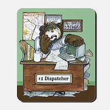 School Bus Dispatcher Male Mousepad