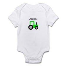 Aiden - Lime Tractor Infant Bodysuit