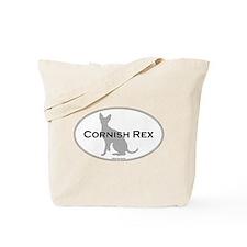 Cornish Rex Oval Tote Bag