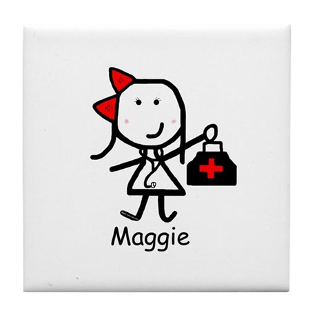Medical - Maggie Tile Coaster