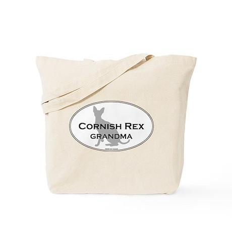 Cornish Rex Grandma Tote Bag