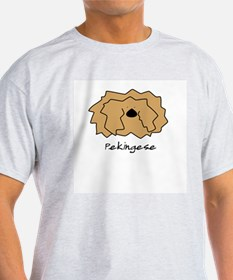 Cartoon Pekingese T-Shirt