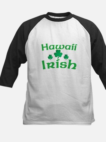 Hawaii Irish Shamrocks Kids Baseball Jersey