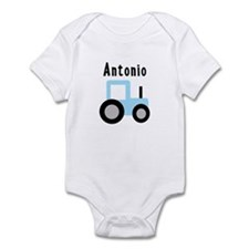 Antonio - Baby Blue Tractor Infant Bodysuit