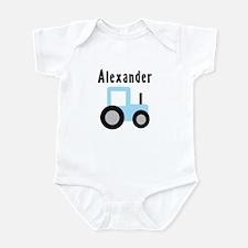 Alexander - Baby Blue Tractor Infant Bodysuit