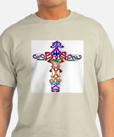 Colored Cross T-Shirt