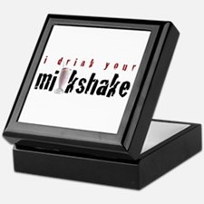 I Drink Your Milkshake Keepsake Box