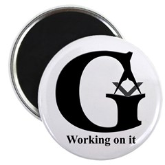 The Reversed Masonic G Magnet