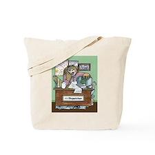 School Bus Dispatcher Female Tote Bag