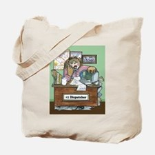 School Bus Dispatcher Female Tote Bag