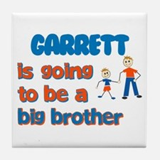 Garrett - Going to be a Big B Tile Coaster