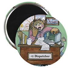 School Bus Dispatcher Female Magnet