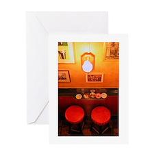 Bar Stools<br> Greeting Card