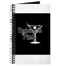 Black & White Martini Bachelo Journal