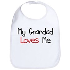 My Grandad Loves Me Bib