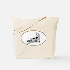 Cat Grandma Tote Bag