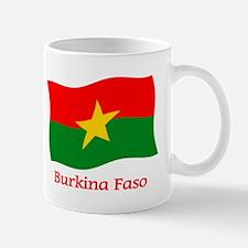Burkina Faso Flag Mug