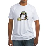 Bedtime Penguin Fitted T-Shirt