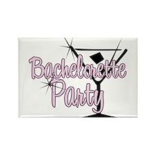 Pink Martini Bachelorette Par Rectangle Magnet (10