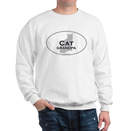 House Cat Grandpa Sweatshirt