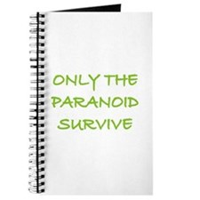 Only The Paranoid Survive Journal