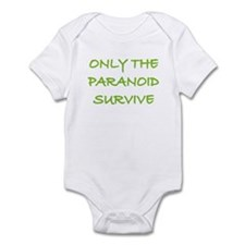 Only The Paranoid Survive Infant Bodysuit