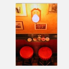 Bar Stools<br>Postcards<br> (Package of 8)