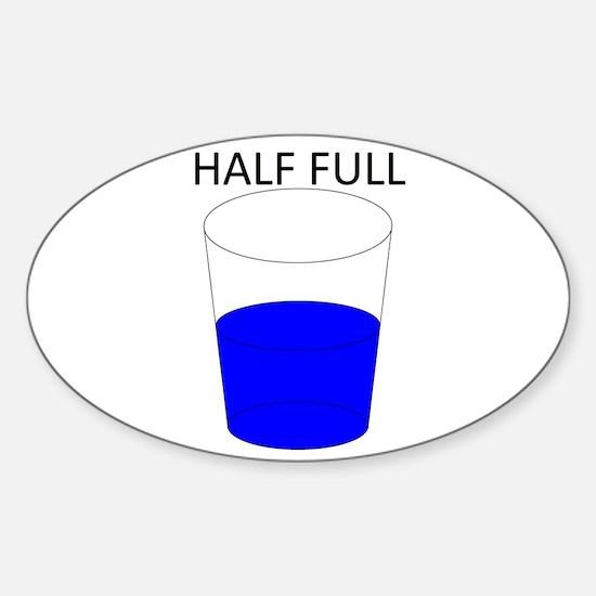 Glass Half Full Decal