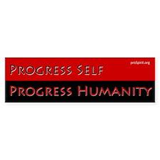 Progress Self - 4 - Bumper Bumper Sticker