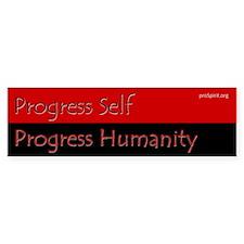 Progress Self - 2 - Bumper Bumper Sticker