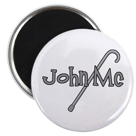 "Anti-McCain Cane 2.25"" Magnet (100 pack)"