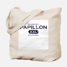 Property of Papillon Tote Bag