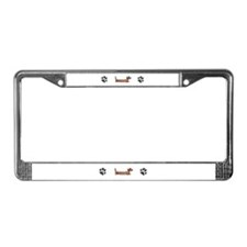 Cute Bay License Plate Frame