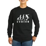 Evolve Bowling Long Sleeve Dark T-Shirt