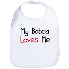 My Babcia Loves Me Bib