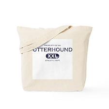 Property of Otterhound Tote Bag