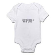 Have You Hugged a Knitter Tod Infant Bodysuit