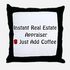 Real Estate Appraiser Throw Pillow