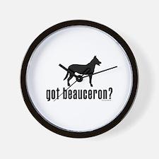 got beauceron? Wall Clock