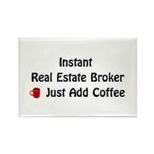 Real Estate Broker Rectangle Magnet (10 pack)