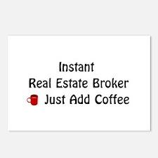 Real Estate Broker Postcards (Package of 8)