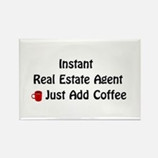 Real Estate Agent Rectangle Magnet (10 pack)