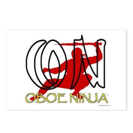 Oboe Ninja Postcards (Package of 8)